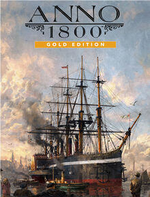 Anno 1800 Gold Edition Cover Art
