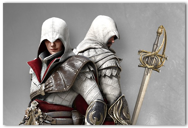 Free Weekend reward - Ezio's Roman Set
