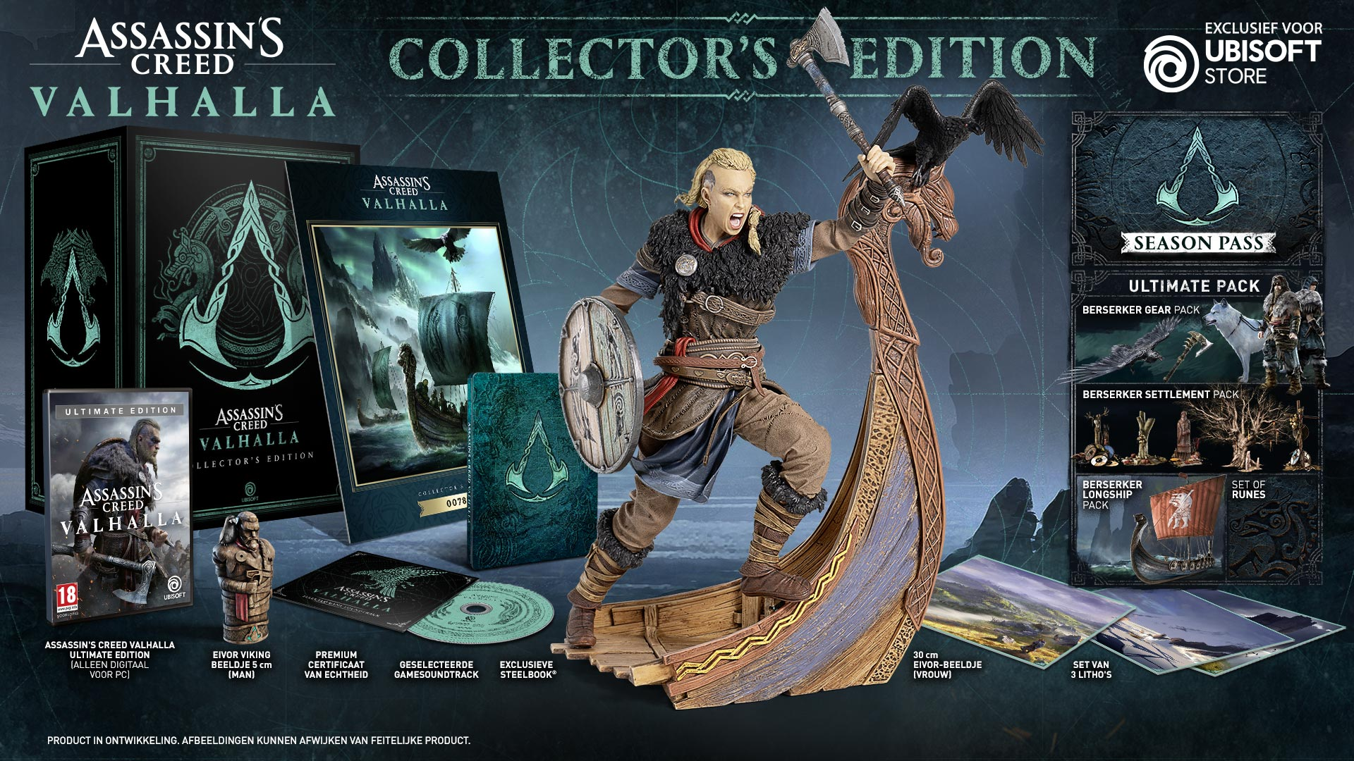 Content of the Collector's edition