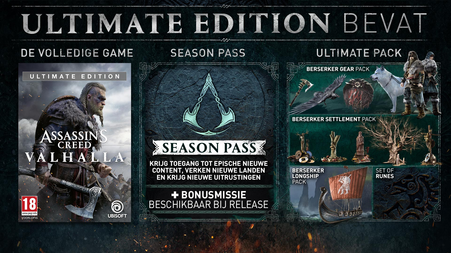 Content of the Ultimate edition
