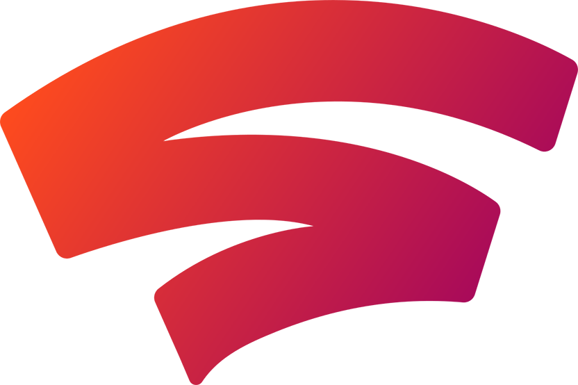 Logotipo do Google Stadia