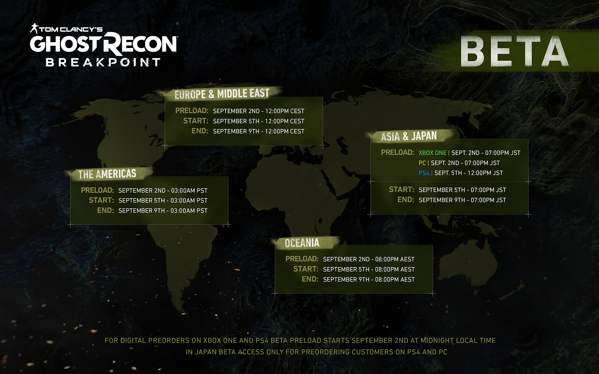 Downloading Ghost Recon Breakpoint Beta - Ubisoft Support