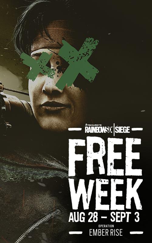 Rainbow Six: Siege Free Week (August 2019) - Ubisoft Support