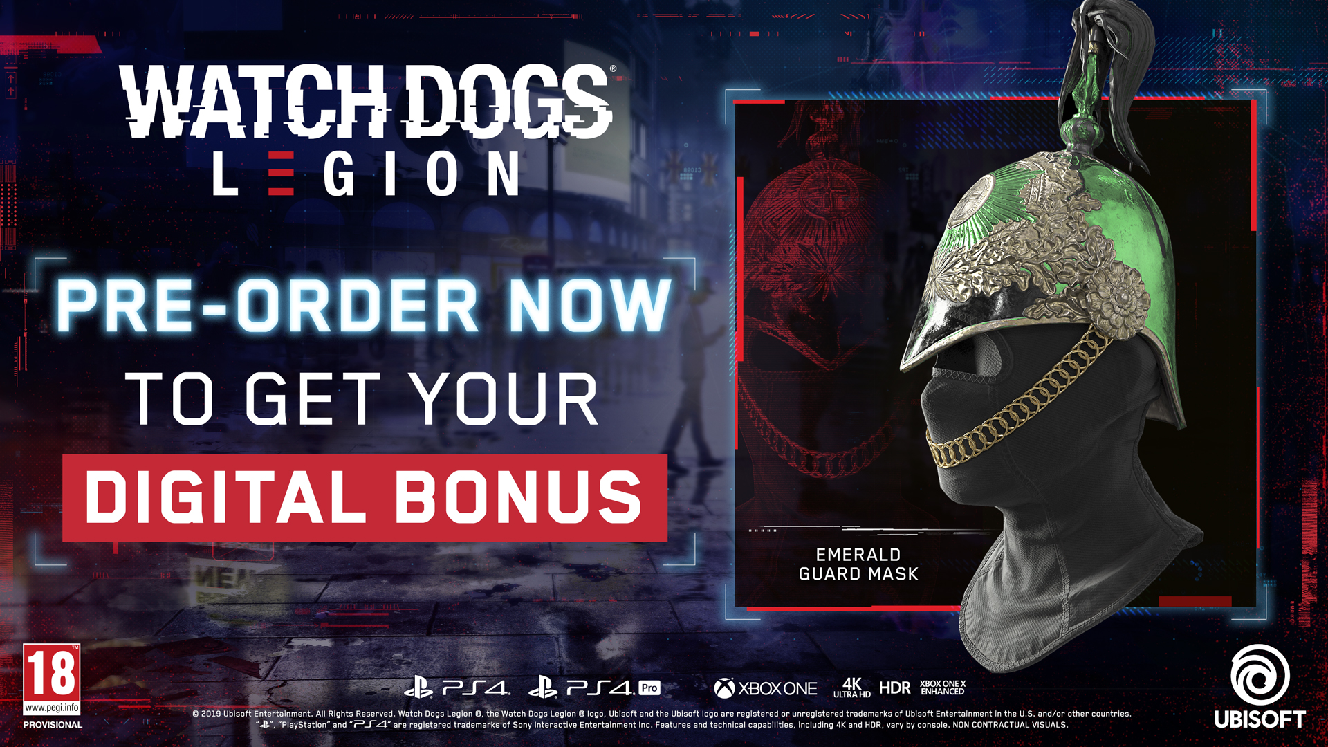 Watch Dogs Legion Chaîne secondaire ULC