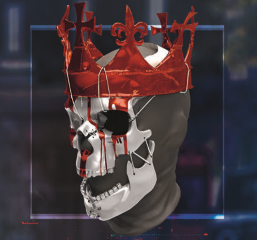 King of Hearts Mask
