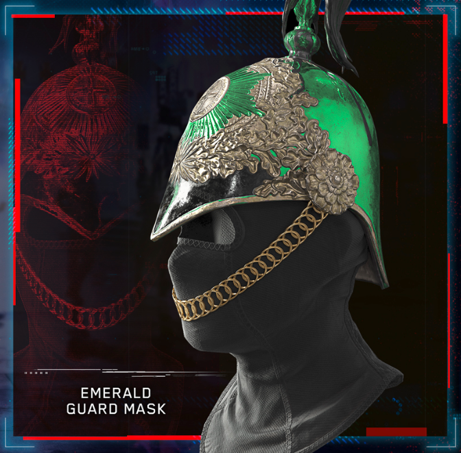 Emerald Guard Mask